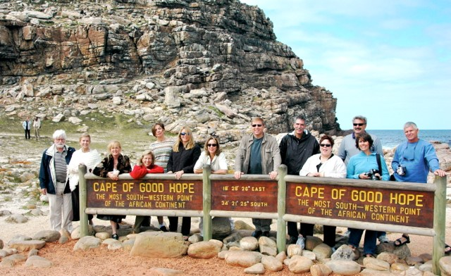 group at cape of good hope