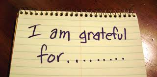 I am grateful for; gratitude; grateful