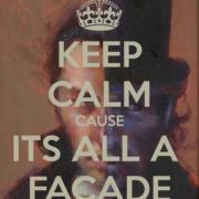 It's all a facade